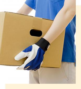 遺品整理や不用品回収の手続きも同時に承ります